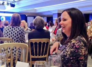 CIAO client Natalie at Women of the Year Lunch 2016